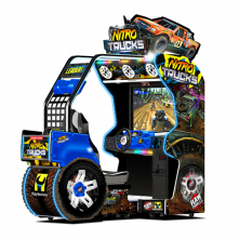 Nitro Trucks New Render Blue Cabinet
