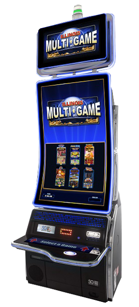 Scientific Games - TwinStar J43 Gaming Cabinet