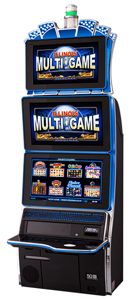 Scientific Games TwinStar Gaming Cabinet