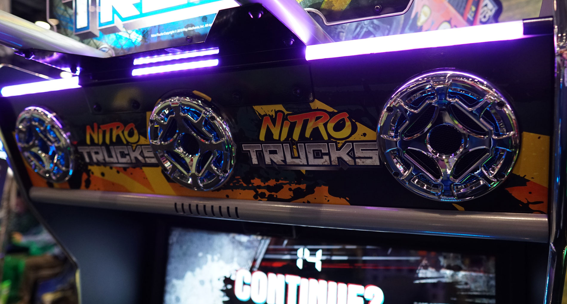 Nitro Trucks New Game Background Banner