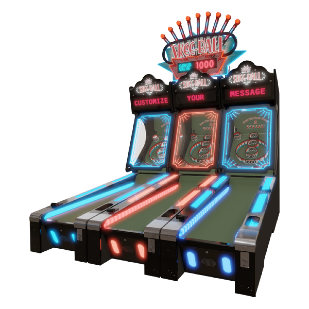 Skee-Ball Glow with Custom Messaging