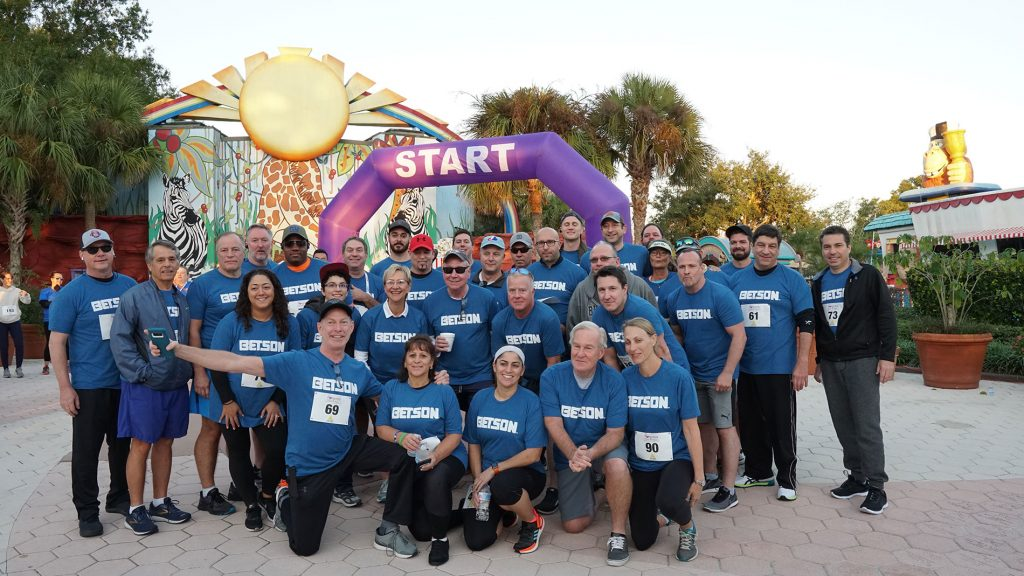 Betson Team at IAAPA 5k - Our People