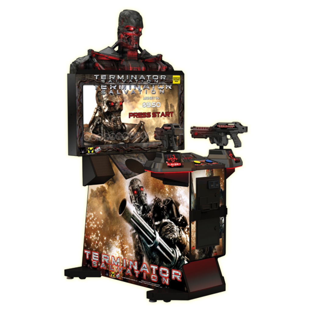 """Terminator Salvation 42"""" Fixed Used Game"""