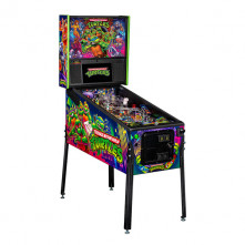 Teenage Mutant Ninja Turtles Pro Pinball Angled Cabinet