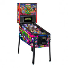 Teenage Mutant Ninja Turtles Premium Pinball Angled Cabinet Image