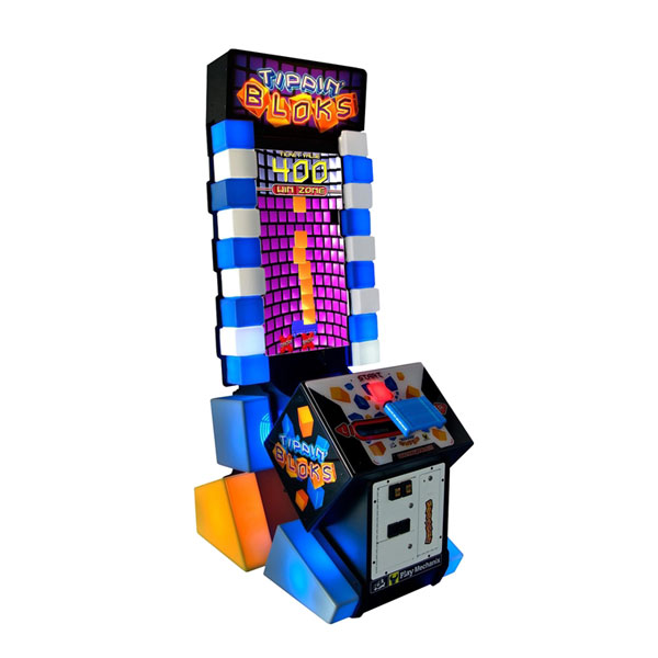 Tippin' Bloks Used Arcade Game by ICE
