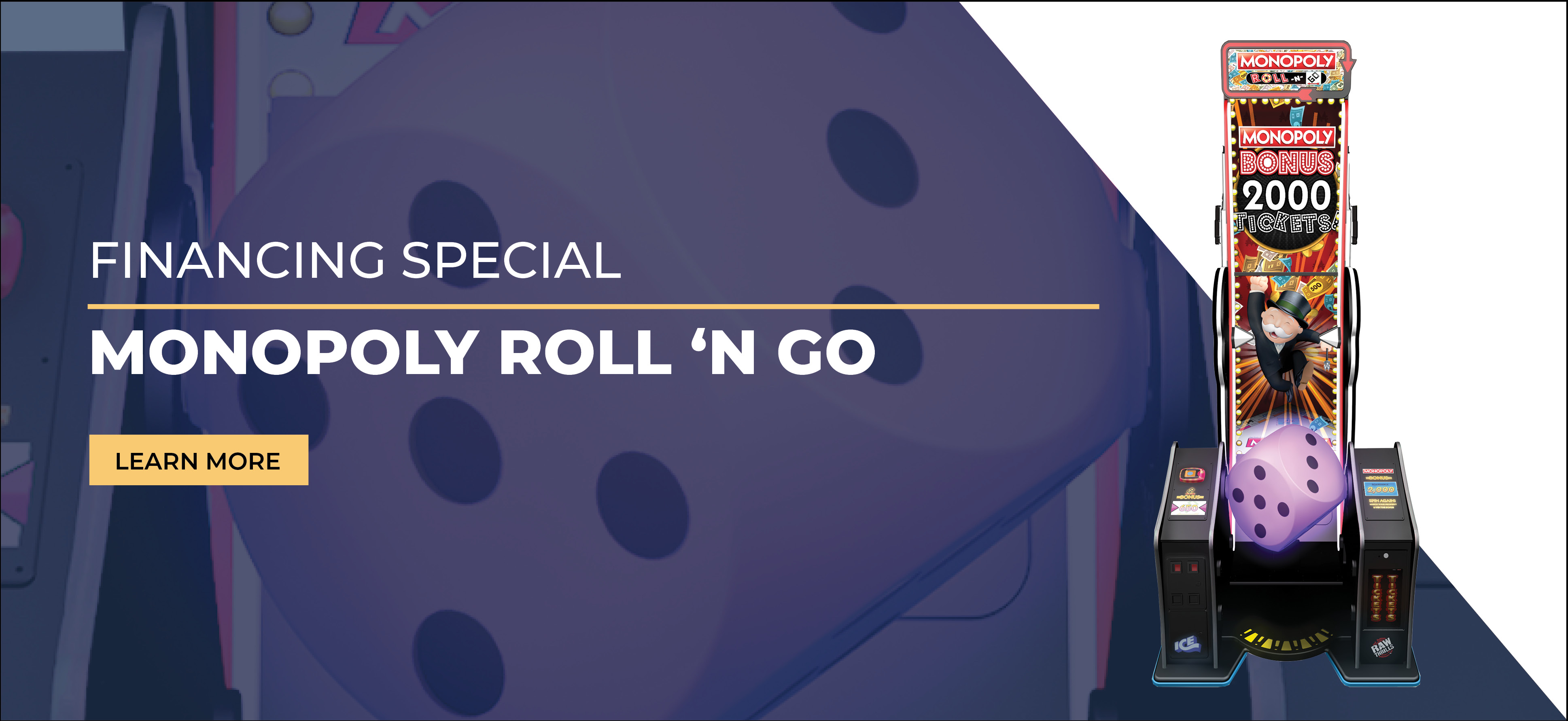 Monopoly Roll 'N Go Financing Special