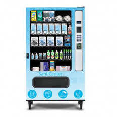 Sani-Center Plus PPE Vending Machine from USI - Provide consumers with safe and easy access to personal protection equipment (PPE), safety products, medical supplies, and disinfecting supplies with the Sani-Center Plus PPE Vending Machine.